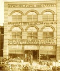 A. Zweigel Building ~ circa 1911